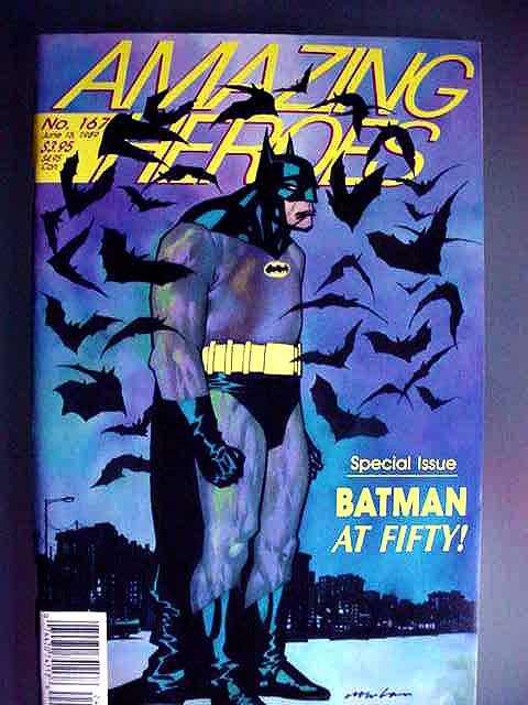 Amazing Heroes, Fanzine