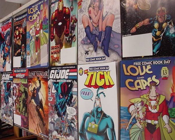 Click here to see all the earlier FCBD Comics we have in our online store for sale!